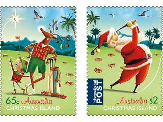 set of christmas island christmas 2017 sts australia