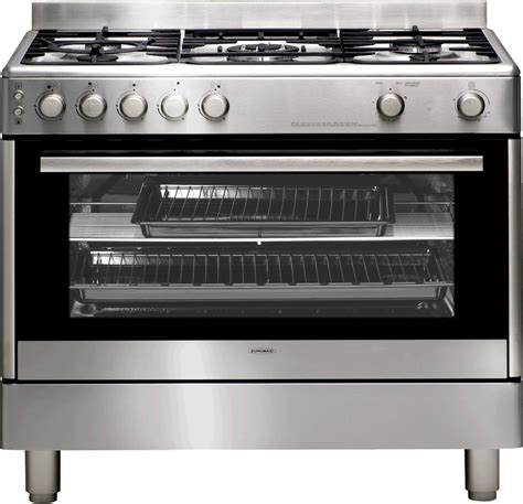 Oven Freestanding euromaid gg90s freestanding gas oven stove reviews appliances