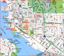 Map San Diego by Road Map Of San Diego Center San Diego California