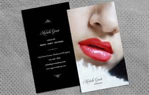 exles of makeup artist business cards how to design makeup artist business cards printaholic
