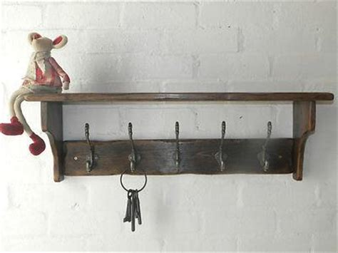 country style coat rack reclaimed wood hat coat rack with shelf cottage country