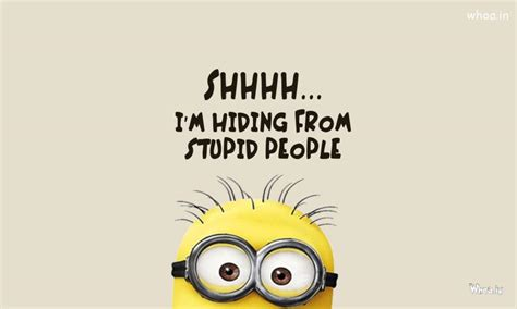 minions wallpaper for desktop with quotes minions with funny line hd desktop wallpaper