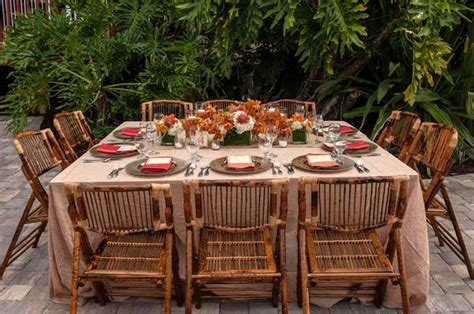 fabulous dining room table placemats with rent international palms resort photo shoot tropical inspiration