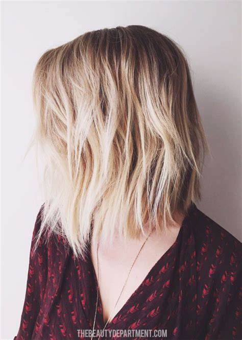 hair styles shorter in front than in back for boys best 25 the lob ideas on pinterest page haircut