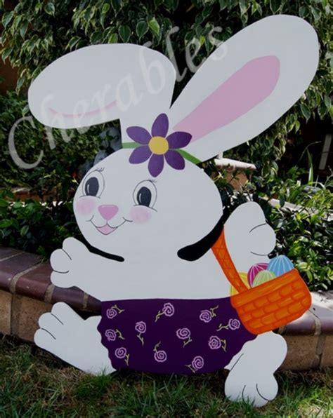 large easter eggs for yard bunny easter yard large easter decoration easter