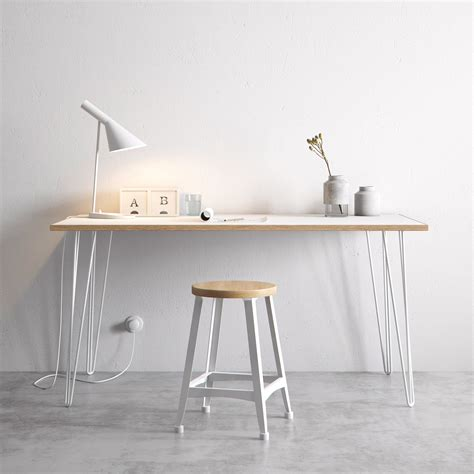 hairpin legs the hairpin leg co desk dining tables