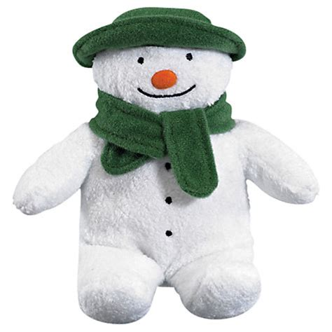 buy the snowman bean toy john lewis