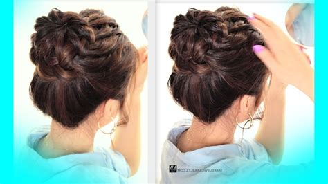 hairstyles hairstyle photos updo hairstyles for school starburst braid bun hairstyle