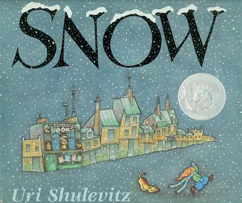 snow books snow 1999 caldecott honor book association for library