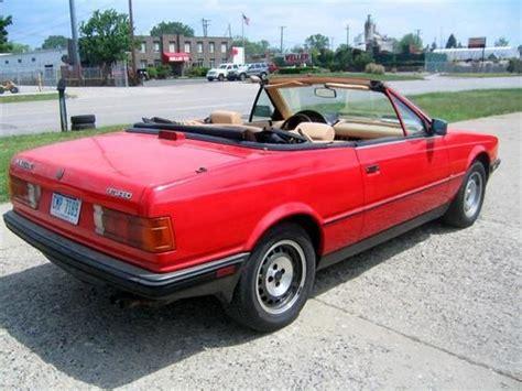 1986 Maserati Biturbo by Purchase Used 1986 Maserati Biturbo Spyder Convertible