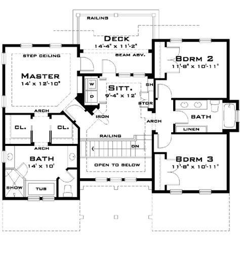 simple ground floor house plan building plans