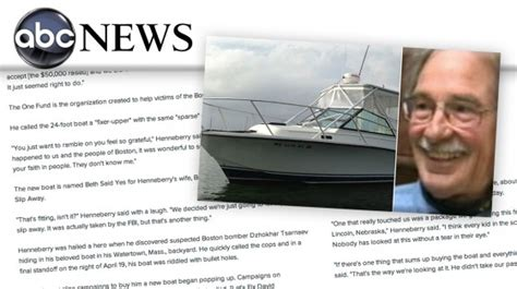 man who found boston bomber in boat man who found boston bomber gets boat new england