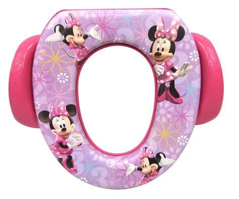 Minnie Mouse Potty Seat And Step Stool by Ginsey Children S Disney Character Minnie