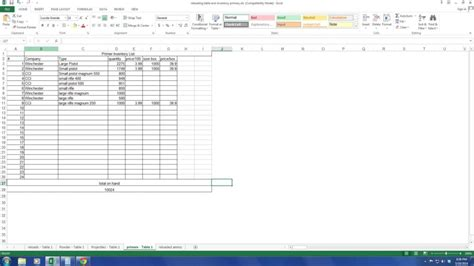 inventory tracking spreadsheet template free haisume