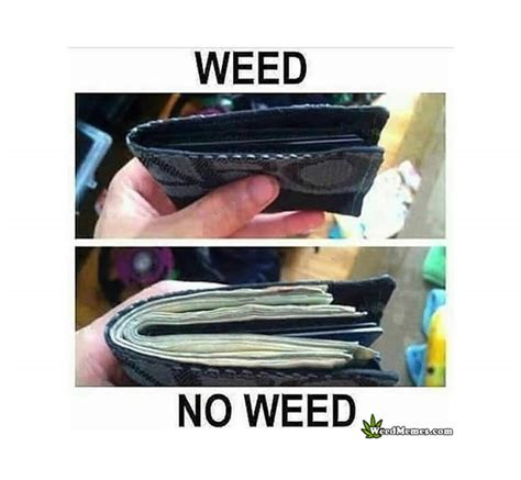 Meme Wallet - wallet weed no weed memes weed memes