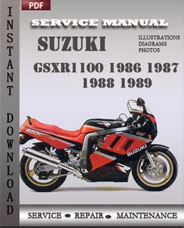 suzuki samurai 1986 1988 service repair manual pdf suzuki gsxr1100 1986 1989 service repair servicerepairmanualdownload com