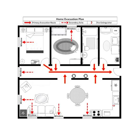 home evacuation plan 1