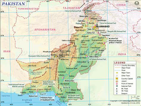 us area code from pakistan pakistan map map of pakistan