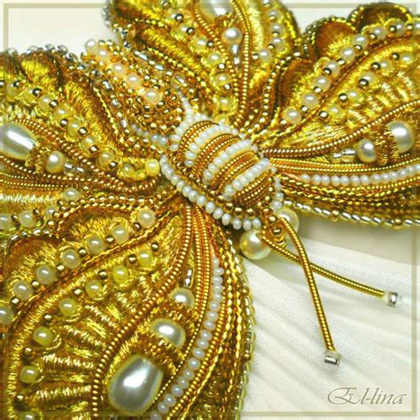 gorgeous bead embroidery by emelina the beading