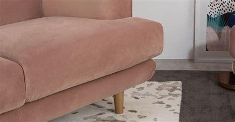 vintage pink sofa gracie 2 seater sofa vintage pink velvet made com