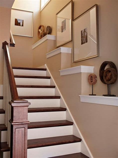 Stair Decor | staircase wall decorating ideas traditional staircase