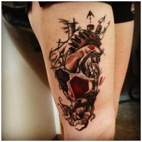 tattoo 3d en la pierna tattoo para piernas imagui