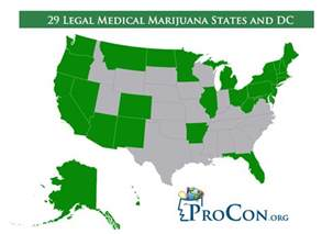 Medical Marijuana States Map by Medical Marijuana States Bing Images