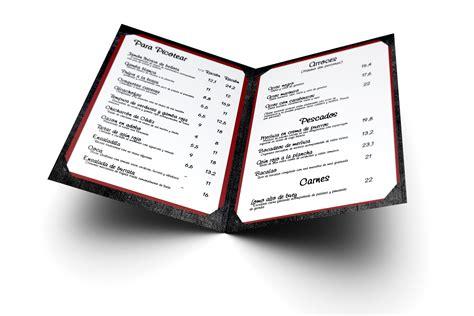 carta de un restaurante la propuesta y la carta del restaurante advanced