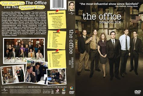 The Office Season 6 by The Office Season 6 Tv Dvd Custom Covers The Office