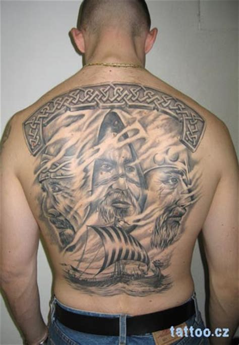 did vikings have tattoos viking back by robincz on deviantart