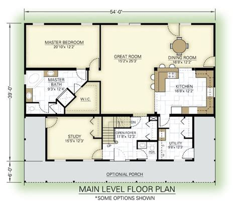 foremost first floor plan home sweet home pinterest