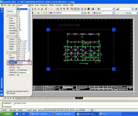 layout autocad 2007 create and modify layout viewport in autocad
