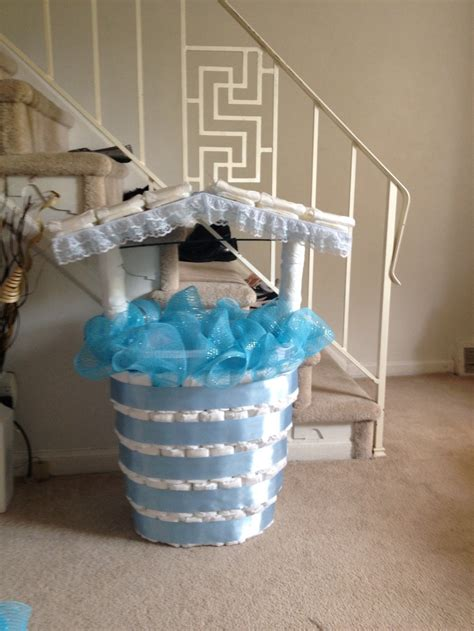 baby shower wishing well ideas - Wishing Well For A Baby Shower