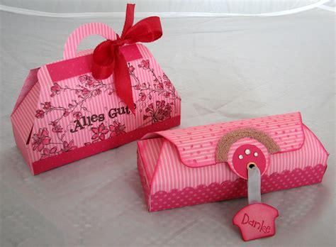 kleine geschenkverpackung basteln spa 223 mit stin up beim stempeln und basteln originelle