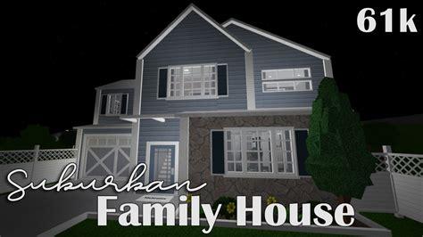 bloxburg suburban family house  youtube