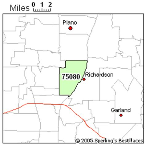 richardson zip code map best place to live in richardson zip 75080
