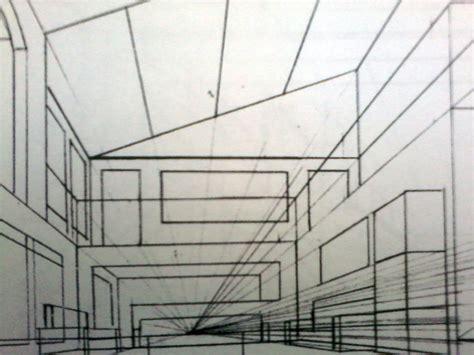 desain interior ruang tamu satu titik hilang perspektif satu titik hilang dunia seni
