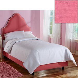 diva upholstered twin bed pink pin by sean jessica ireland kelly on kid s room pinterest
