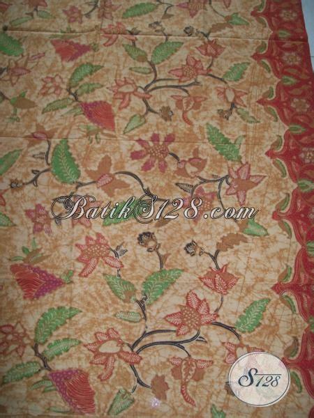 Batik Kesik Soga batik tulis soga genes asli batik bahan bagus halus mantap k1298tgp toko batik