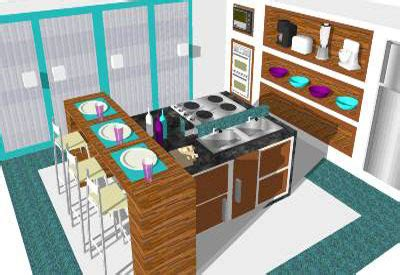sketchup kitchen design furniture design ideas sketchup components 3d warehouse kitchen blue and purple