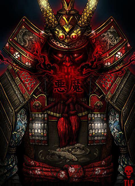 samurai demon armor demon samurai armor by the last phantom on deviantart