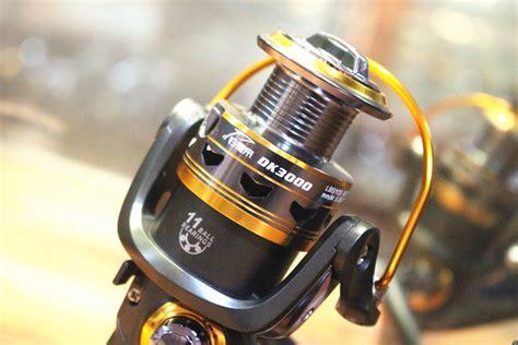 Gulungan Pancing Dk6000 Spinning Fishing Reel 11 Bearing gulungan pancing dk11bb 6000 series metal fishing spinning reel 11 bearing golden