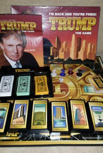 donald trump game trump the game by milton bradley board game donald trump