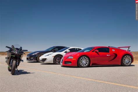 what car beat the bugatti veyron la kawasaki h2r bate en duelo a los mejores