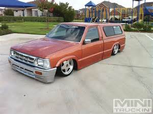 custom mini trucks ridin around 1993 mazda b2200 photo 2