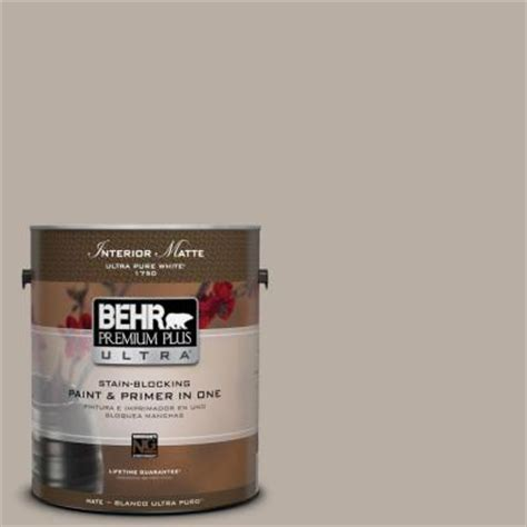 behr premium plus ultra 1 gal n200 3 nightingale gray