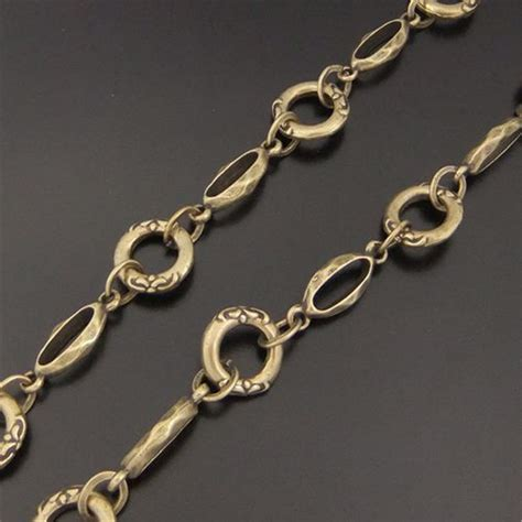 brass chain for jewelry aliexpress buy 1pcs antique bronze ready to use