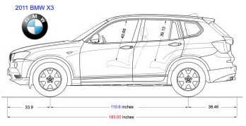 Length Of Bmw X3 X3 Dimensions