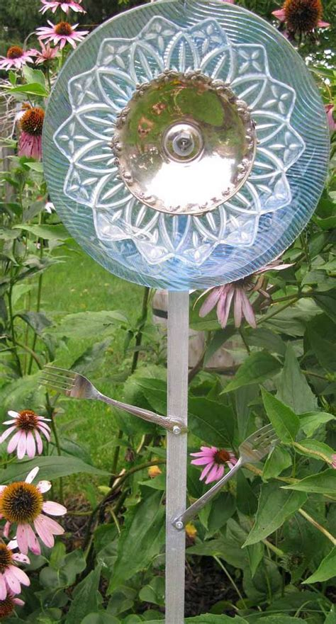 hometalk  secret  making garden art flowers  dishes
