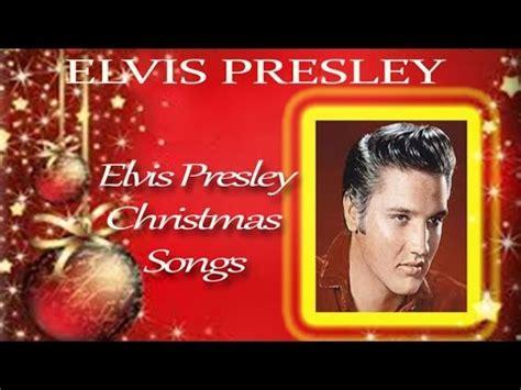 5 classic christmas songs the lyrics elvis elvis songs